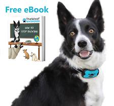 Collar anti bark | Detener Ladridos Perro | sonido y la vibración | pequeñas, medianas y grandes