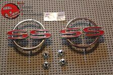 1964 Chevy Impala Super Sport SS Rear Quarter Panel Body Emblems GM Restoration