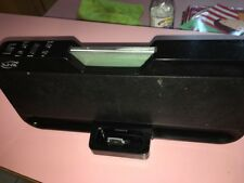 iLive IS208B iPod Dock Aux in and out / 30-Pin, Comes without Remote