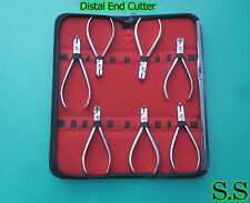 Ne7 Pcs TC Distal End Cutter Kit Orthodontic Dental Instruments