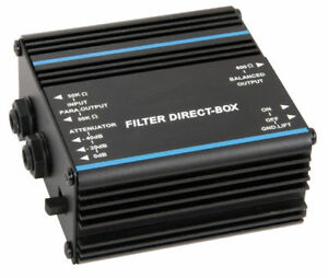 Chord / QTX Direct injection DI Filter Box BARGAIN!!