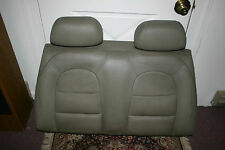 1994 Classic Saab 900 Convertible Taupe Rear Seat Back & Headrests -Bottom Sold