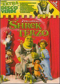 SHREK TERZO EDIZIONE SPECIALE 2 DVD DISCO VERDE EXTRA