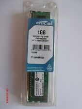 Crucial ct12864ba1339 1gb ddr3 pc3-10600 1333mhz DIMM 240-pin pc memory