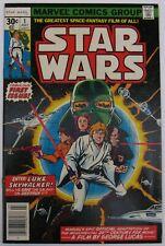 Star Wars #1 (Jul 1977, Marvel), NM (9.4), regular 30 cent edition w/UPC code, A