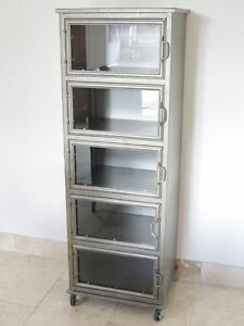Buy Glass Kitchen Vintage Retro Cabinets Cupboards Ebay