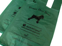 Scot-Petshop 100 Exo Biodegradable Dog Poop Bags Eco Friendly Dog Poo Waste Bags
