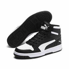 Puma Rebound LayUp SL Sneaker Basketballschuhe Erwachsene schwarz weiß