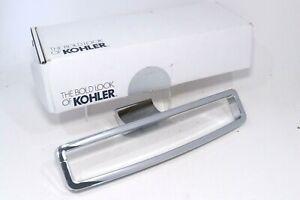 Kohler 11587-CP Towel Ring Bar Rack Bathroom Modern Chrome Polished New In Box