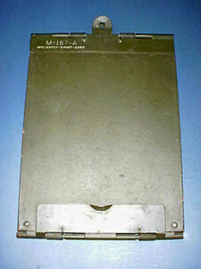 World War II M-167-A US Army Military Metal Clipboard - Collectible Original