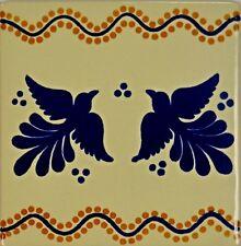 Pajaritos de Amor (Love Birds) Talavera Tile