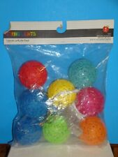 String Lights, battery operated, 1 set of 8 count, indoor use only, 3.5' length
