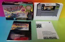 F-Zero - SNES Super Nintendo Game COMPLETE CIB Rare Box Authentic FZERO F Zero