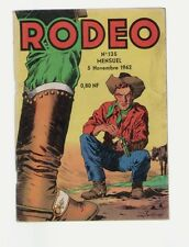 RODEO N°135 SPECIAL COLLECTIONNEURS  2 PLANCHES  ARCHIVES LUG NOVEMBRE 1962