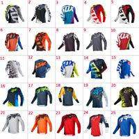 Resistance long Sleeve Downhill Shirt motocross bike clothing Cycling Jerseys