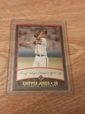 2001 Bowman Chrome #37 Chipper Jones Atlanta Braves MINT SHARP CARD