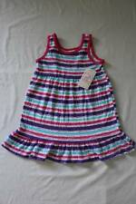 NEW Toddler Girls Sleeveless Dress 3T Party Outfit Pink Purple Blue Striped