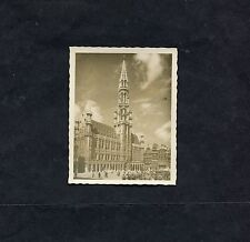 C1950's Photo Image of the Town Hall, Brussels.