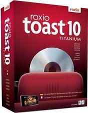 Roxio toast titanium-v. 10-Mac logiciel de gravure-seulement Livre et Orig. licence Key