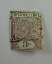 Sierra Leone  SC #39  Used 3d stamp