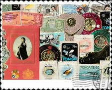 Tonga : 50 Different Stamps Collection