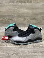 Nike Air Jordan 10 X Retro Lady Liberty Statue Silver Black Teal SZ 8 705178-045