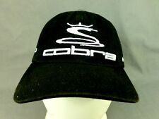 COBRA GOLF YOUTH PRO TOUR WASHED BAFFLER AMP BASEBALL CAP HAT BLACK OSFA BNWT