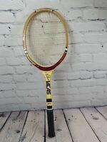 Vintage Slazenger Guillermo Vilas Tour Frame Tennis Racket. See pics for cond