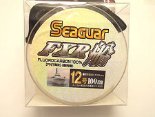 SEAGUAR FXR FLUOROCARBON LEADER LINE 100m - #12 40lb 0.570mm  From Japan