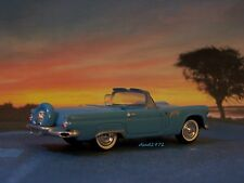 1956 56 FORD THUNDERBIRD COLLECTIBLE 1/64 SCALE DIECAST MODEL DIORAMA - DISPLAY