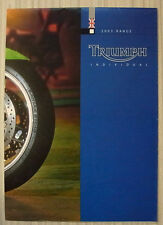 TRIUMPH MOTORCYCLES 2003 Range Sales Brochure/Poster #T3864644 SPRINT GT Tiger +