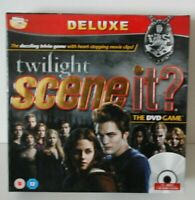 Twilight Scene It? Deluxe version interactive board game & dvd from the tv show