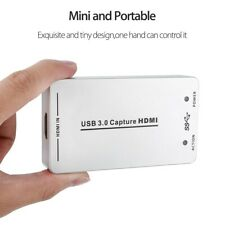 Portable USB 3.0 1080P 60FPS HDMI Video Capture Card Box For Linux Windows OS X