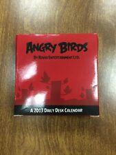 Angry Birds 2013 Calendar (2012, Calendar)  RARE