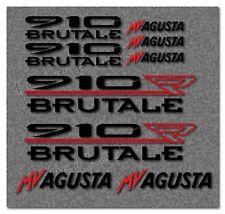 MV AGUSTA 910 R Brutale 9tlg Aufkleber Set Tuning Bike Biker  -30 Farben- MV010