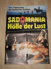 Sadomania Hell of Lust Cinema Poster a1 Erotic Sex Jess Franco Ursula buchfellne