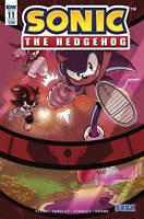 Sonic The Hedgehog #11 cover B Sega IDW Comic 1st Print 2018 unread NM