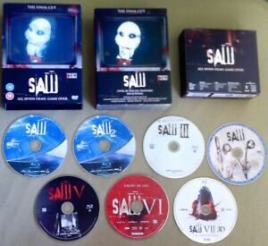 7-Blu-Ray SAW Limited Edition lenticular Box-Set cutomized with theatrical cuts