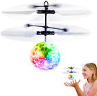 Flying Ball Toys RC Toy For Kids Boys Girls Gifts Rechargeable Light Up Ball Dro