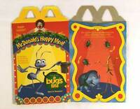 McDonalds Disney 1998 Bugs Life 1 Happy Meal Box Cardboard Gift Party Collect