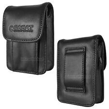 Gürteltasche Kamera-Tasche passend für Canon IXUS 230 HS - Leder Etui