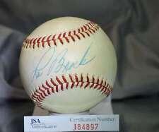 Lou Brock Jsa Certed National League Autograph Baseball Authentic Signed