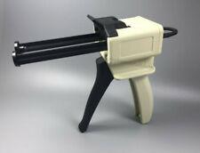 Dental Impression Mixing Dispensing Tray Caulking Gun Dispenser Tips Handgun