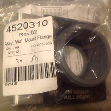 DRAGER # 4520310 WALL MOUNT FLANGE ASSEMBLY FOR USE W/POLYTRON 2 XP-TOX