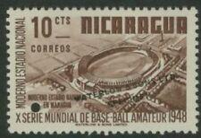 Nicaragua 1949 Stadium 10c World Series color sample