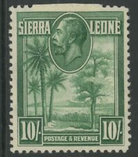 SIERRA LEONE, MINT, #140-51, OG HR, 1 SHOWN, GREAT CENTERING