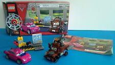 LEGO Disney Cars 2: Mater's Spy Zone 8424, 114 pcs complete set w/box, RETIRED