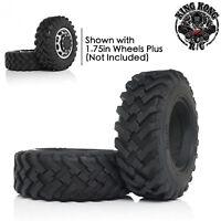 "Rubber 1.75"" Tire (2 pcs) fit for 1/12 Soviet ZIS-151/CA30/Tamiya/6x6 R/C Truck"