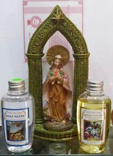 Mary statue +Holy water Jordan river and Galilee pure anointing oil 50ml,1.69oz