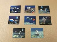 Bhutan Space Apollo 11 First Man on Moon set 3D stamps 1969 MNH